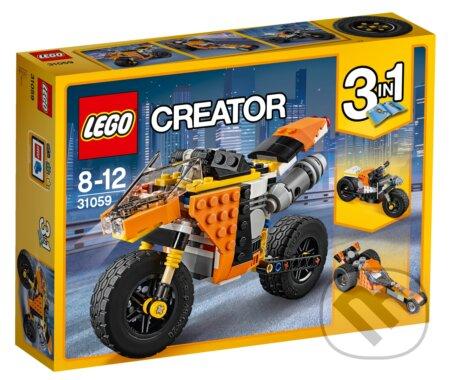 LEGO Creator 31059 Cestná motorka -