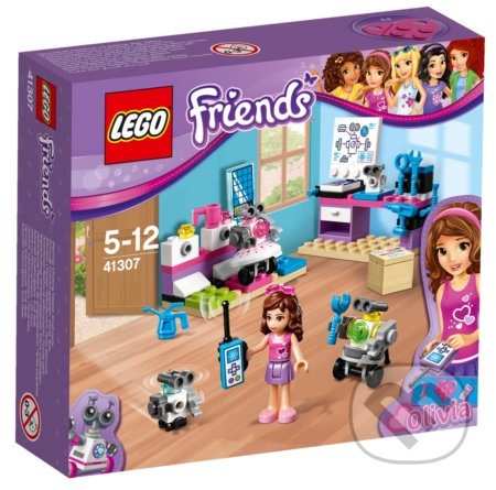 LEGO Friends 41307 Olivia a tvorivé laboratórium -
