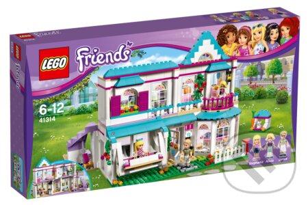 LEGO Friends 41314 Stephanie a jej dom -