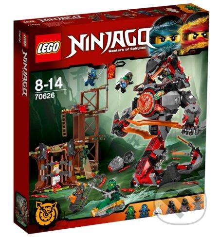 LEGO Ninjago 70626 Úsvit kovovej skazy -