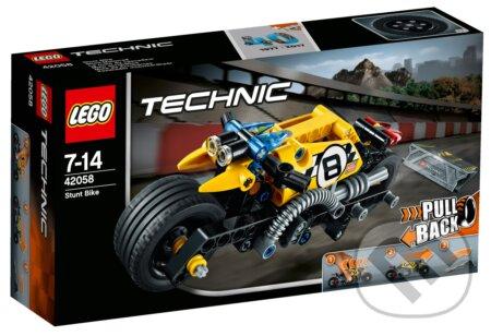 LEGO Technic 42058 Motorka pre kaskadérov -
