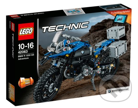 LEGO Technic 42063 BMW R 1200 GS Adventure -