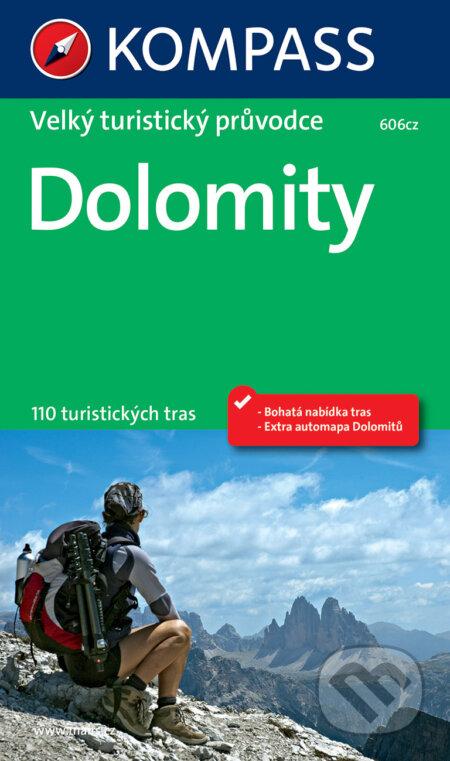 Dolomity (velký turistický průvodce) -