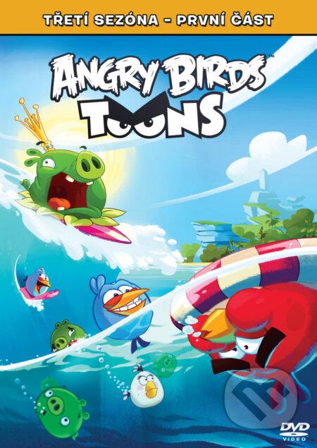 Angry Birds Toons 3. série DVD