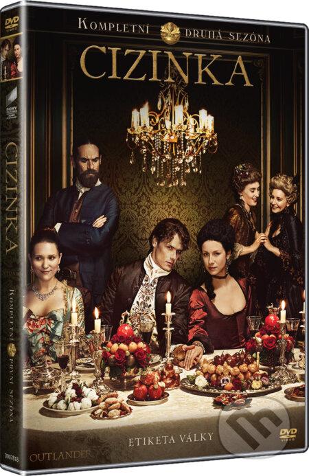 Cizinka 2. série DVD