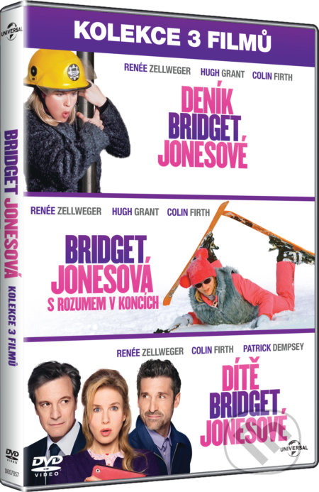 Kolekcia Bridget Jonesová DVD