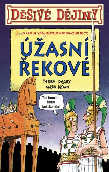 Úžasní Řekové - Terry Deary