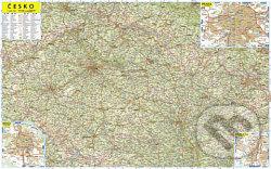 Nástěnná mapa Česko 1:500 0000 -