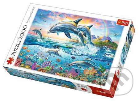 Happy dolphins -