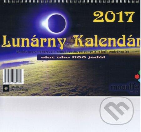Lunárny kalendár 2017 - Kolektív autorov