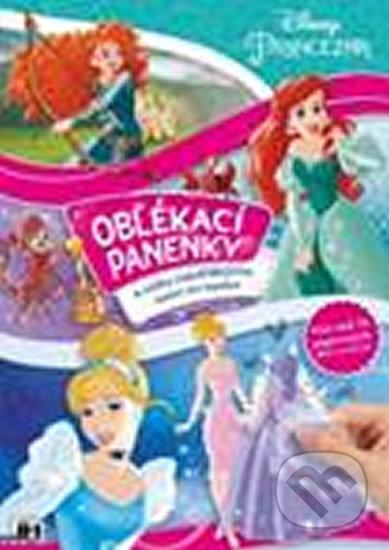 Princezny - Oblékací panenky - Walt Disney