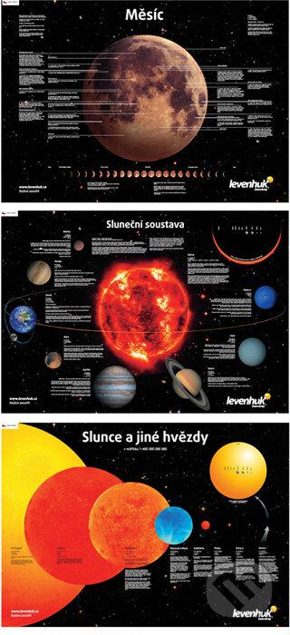 Sada plakátů Levenhuk s vesmírnou tématikou -