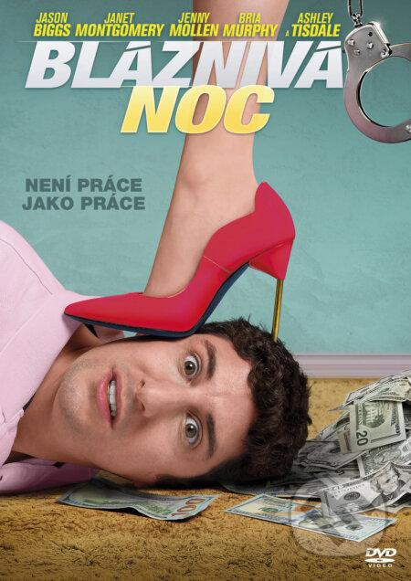 Bláznivá noc DVD
