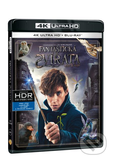 Fantastická zvířata a kde je najít Ultra HD Blu-ray ULTRAHDBLU-RAY