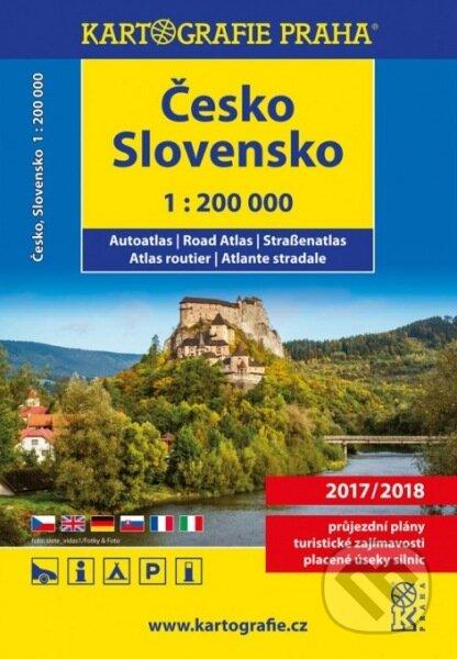 Autoatlas Česko, Slovensko 1:200 000 -