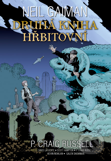 Druhá kniha hřbitovní - Neil Gaiman
