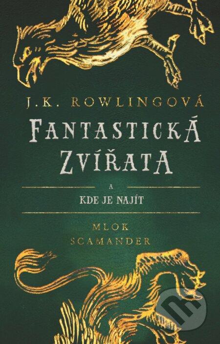 Fantastická zvířata a kde je najít - J. K. Rowling, Mlok Scamander