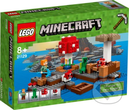 LEGO Minecraft 21129 Ostrov húb -