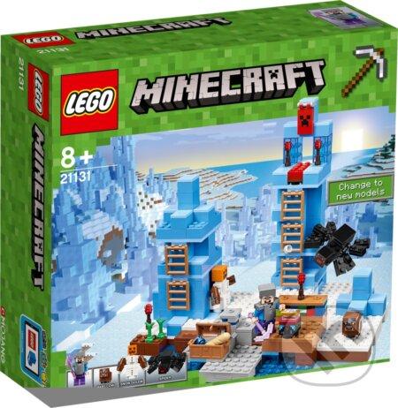 LEGO Minecraft 21131 Ľadové ostne -