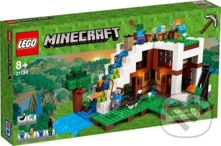 LEGO Minecraft 21134 Základňa vo vodopáde -