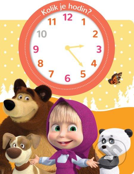 Máša a medvěd: Kolik je hodin? -