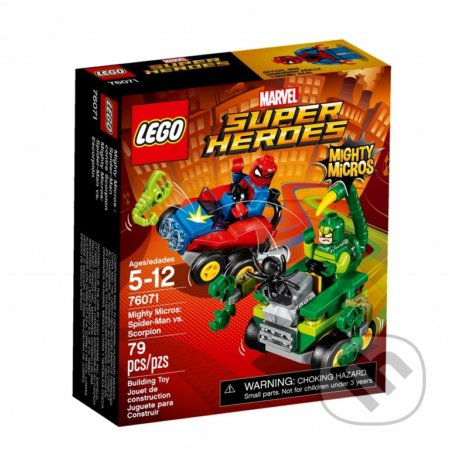 LEGO Super Heroes 76071 Mighty Micros: Spider-Man vs. Škorpión -