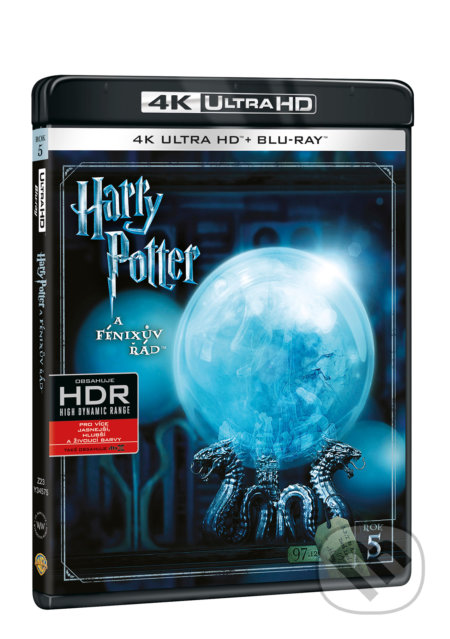 Harry Potter a Fénixův řád Ultra HD Blu-ray ULTRAHDBLU-RAY