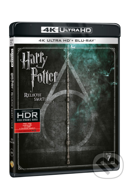 Harry Potter a Relikvie smrti - část 2. Ultra HD Blu-ray ULTRAHDBLU-RAY