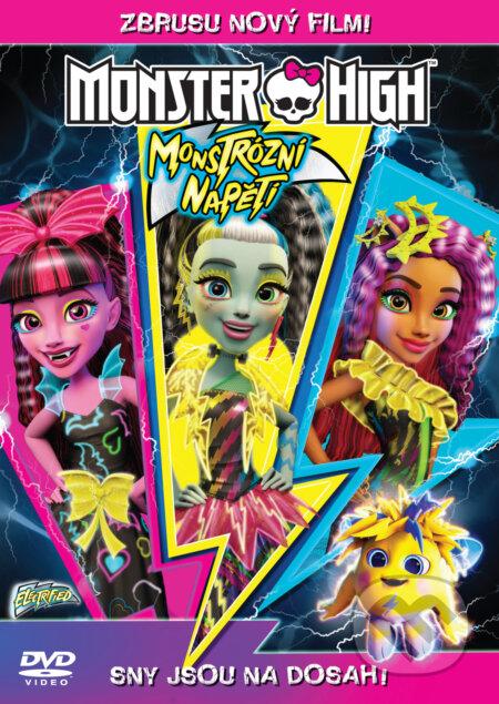 Monster High: Monstrózní napětí DVD