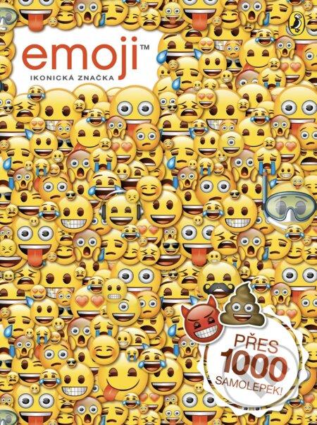 Emoji: oficiální kniha samolepek -
