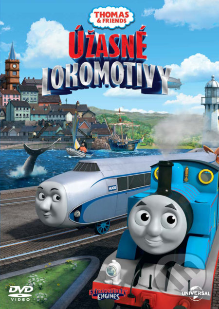 Mašinka Tomáš: Úžasné lokomotivy DVD