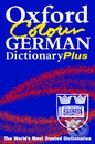 Oxford Colour German Dictionary Plus -