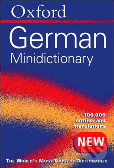 Oxford German Minidictionary -