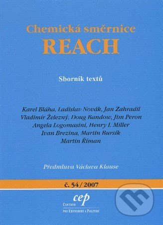 Chemická směrnice REACH - Kolektív