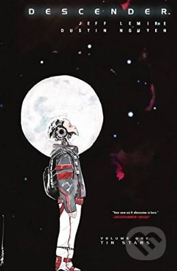 Descender (Volume 1) - Jeff Lemire, Dustin Nguyen (ilustrácie)