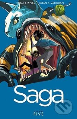 Saga (Volume 5) - Brian K. Vaughan
