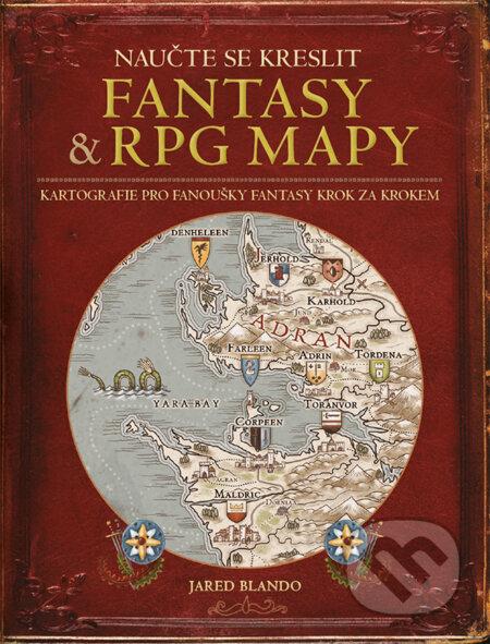 Naučte se kreslit fantasy a RPG mapy - Jared Blando