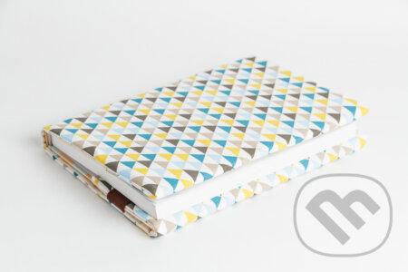 Obal na knihu otvárcí Triangle modrý -