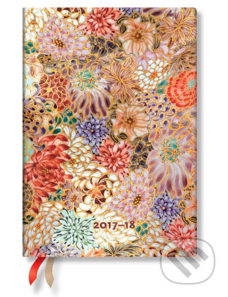 Paperblanks - diár Kikka 2017/2018 -