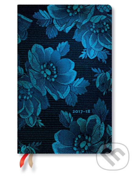 Paperblanks - diár Blue Muse 2017/2018 -