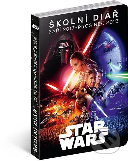 Školní diář Star Wars Classic - září 2017 – prosinec 2018 -