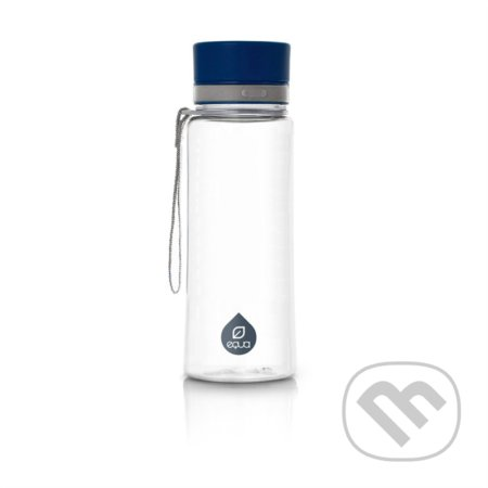 Fľaša EQUA Plain Blue 600 ml -