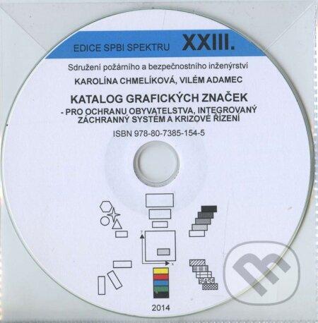 Katalog grafických značek pro ochranu obyvatelstva, integrovaný záchranný systém a krizové řizení DVD