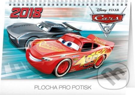 Kalendář stolní 2018 - Cars -