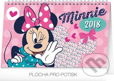 Kalendář stolní 2018 - Minnie -