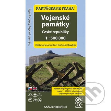 Vojenské památky České republiky/1:500 tis. -