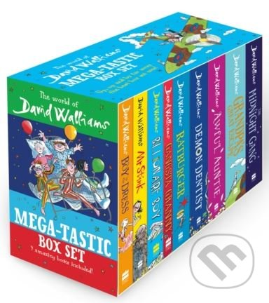 The World of David Walliams - David Walliams, Quentin Blake (ilustrácie), Tony Ross (ilustrácie)