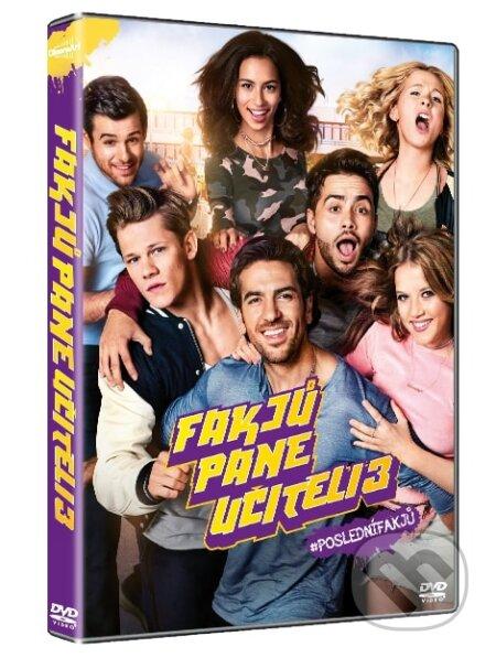 Fakjů pane učiteli 3 DVD