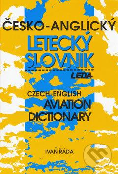 Leda Česko-anglický letecký slovník -