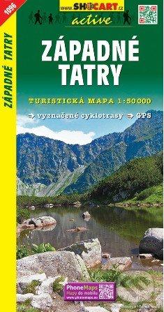 Západné Tatry 1:50 000 -